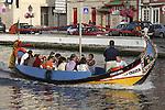 Moliceiro Tourist Boat, Aveiro, Portugal