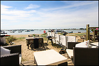 BNPS.co.uk (01202 558833)<br /> Pic: Denisons/BNPS<br /> <br /> Britain's most expensive beach hut?<br /> <br /> A luxury beach hut has gone on the market for &pound;280,000 - despite having no running water, mains electricity or toilet.<br /> <br /> The wooden cabin is on the exclusive Mudeford Spit in Christchurch, Dorset, which is home to the most expensive beach huts in the country.<br /> <br /> The price tag on this one beats the previous highest at the same sandy spit, Hut 128 - a similar cabin which sold for &pound;275,000 earlier this year.<br /> <br /> The remote sandbank can only be accessed by foot, novelty land train or ferry but its isolated position is what gives it its exclusivity.