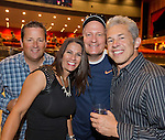 Todd Klinger, Diana Nelson, Steve Zeller and Carl London from Sacramento, CA attend the Billy Idol Concert in the Grand Sierra Resort's Grand Theatre on Friday night, August 7, 2015.