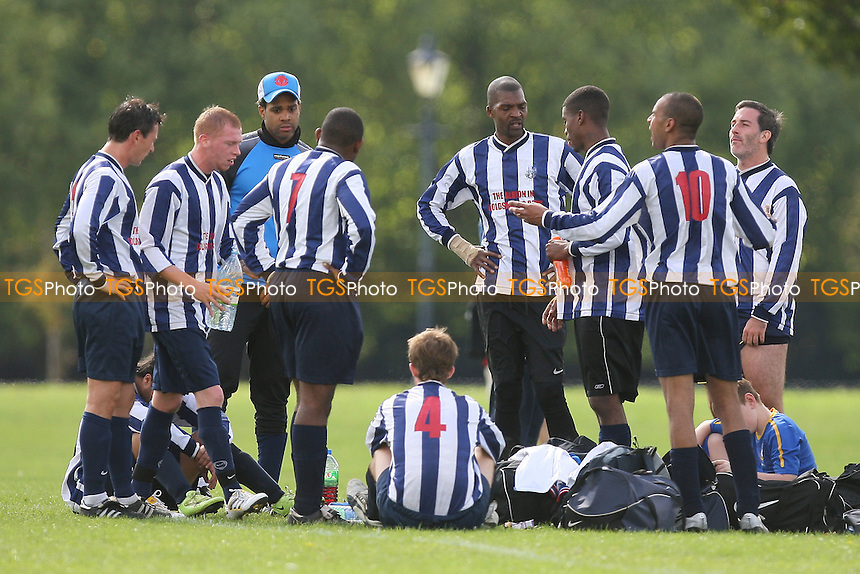 Bancroft United (yellow) vs Albion Manor - Hackney & Leyton League Football at Victoria Park - 12/09/10 - MANDATORY CREDIT: Gavin Ellis/TGSPHOTO - SELF-BILLING APPLIES WHERE APPROPRIATE. NO UNPAID USE. TEL: 0845 094 6026