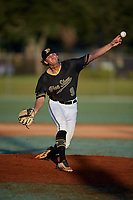 Dalton Smith during the WWBA World Championship at the Roger Dean Complex on October 21, 2018 in Jupiter, Florida.  Dalton Smith is a left handed pitcher from Valdosta, Georgia who attends Lowndes High School and is committed to Georgia Tech.  (Mike Janes/Four Seam Images)