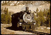 D&amp;RGW #480 K-36 at- Monarch.<br /> D&amp;RGW  Monarch Branch, CO