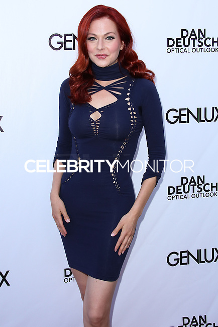 BEVERLY HILLS, CA, USA - JUNE 28: Actress Anna Easteden arrives at the Genlux Magazine Summer 2014 Issue Release Party held at the Luxe Hotel on June 28, 2014 in Beverly Hills, California, United States. (Photo by Xavier Collin/Celebrity Monitor)