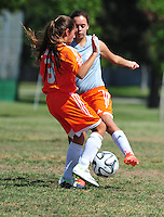 Orange Pride's first game Saturday Sept. 13 2014.( Photo by Alan Greth)