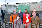 CLOSURE: Some of the remaining staff at the Denny Bacon factory which shut its gates for the last time on Wednesday December 17th. Front l-r: Pat McAuliffe (Shop Steward), Rose Bourke, Mary Nolan, Mike Flynn. Back l-r: Danny Scanlon, Tom Scanlon, Martina McElligott, Eric Quinlan.   Copyright Kerry's Eye 2008