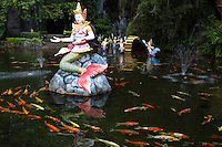 Phuket Fantasea is cultural and entertainment theme park at Kamala Beach Phuket.  The park features various attractions with a focus on Thai culture and myths. Classical dances from Thailand's regions play a prominent part in the theme park's signature show.  Some have described Phuket Fantasea as a Las-Vegas-style spectacle blending Thai culture with 4-D effects, acrobatics, pyrotechnics, special effects, elephant performances all in one unique theatrical show.  Fantasea adds a whole new spin on theme park entertainment, with attractions not found elsewhere in the world