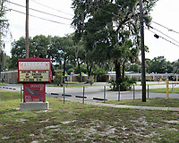 Jacksonville, FL August 1: The Duval County School Board unanimously approved to rename the six county public schools whose names honor Confederate leaders: Robert E. Lee High, General Joseph Finegan Elementary, Jefferson Davis Middle, Stonewall Jackson Elementary, J.E.B. Stuart Middle & Kirby-Smith Middle Schools. Jacksonville, Florida on August 1, 2020 Credit: Edward Kerns II/MediaPunch