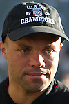 14 November 2004, Earnie Stewart of the D.C. United following their 3-2 MLS Cup win over the Kansas City Wizards at The Home Depot Center, Carson, California.  .
