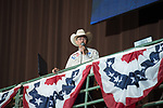 Terry Starnes during first round of the Fort Worth Stockyards Pro Rodeo event in Fort Worth, TX - 6.28.2019 Photo by Christopher Thompson