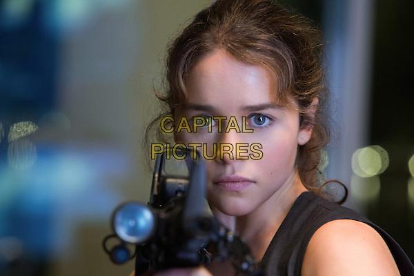 Emilia Clarke<br /> in Terminator Genisys (2015) <br /> *Filmstill - Editorial Use Only*<br /> CAP/FB<br /> Image supplied by Capital Pictures