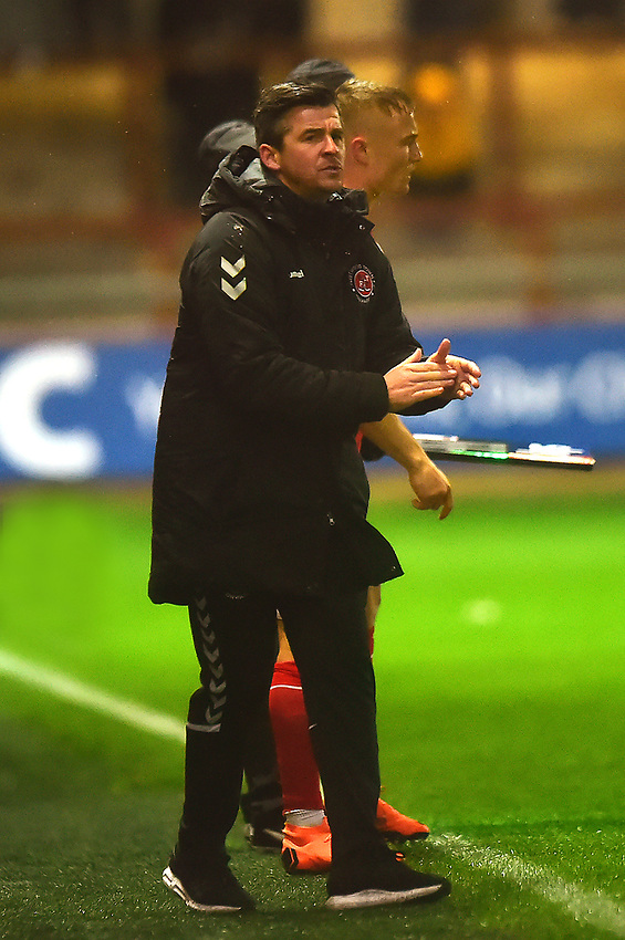 Fleetwood Town manager Joey Barton applauds<br /> <br /> Photographer Richard Martin-Roberts/CameraSport<br /> <br /> The EFL Sky Bet League One - Saturday 15th December 2018 - Fleetwood Town v Burton Albion - Highbury Stadium - Fleetwood<br /> <br /> World Copyright © 2018 CameraSport. All rights reserved. 43 Linden Ave. Countesthorpe. Leicester. England. LE8 5PG - Tel: +44 (0) 116 277 4147 - admin@camerasport.com - www.camerasport.com