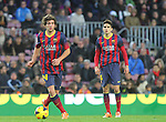 05.01.2014 Barcelona, Spain. La Liga day 18. Picture show Sergi Roberto in action during game between FC Barcelona against Elche at Camp Nou
