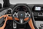 Car pictures of steering wheel view of a 2019 BMW 8-Series - 2 Door Convertible Steering Wheel