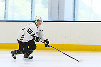 June 26, 2018: Boston Bruins forward Henry Bowlby (75) skates during the Boston Bruins development camp held at Warrior Ice Arena in Brighton Mass. Eric Canha/CSM