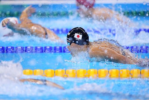 Suzuka Hasegawa (JPN), <br /> AUGUST 9, 2016 - Swimming : <br /> Women's 200m Butterfly Heat <br /> at Olympic Aquatics Stadium <br /> during the Rio 2016 Olympic Games in Rio de Janeiro, Brazil. <br /> (Photo by Yohei Osada/AFLO SPORT)