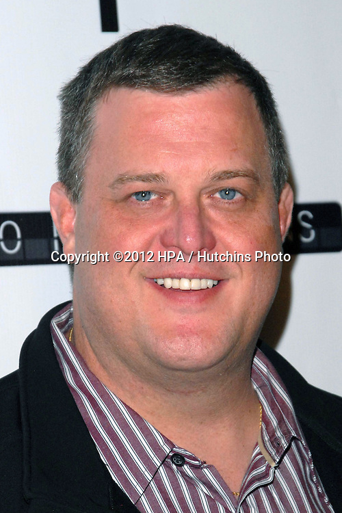 LOS ANGELES - NOV 27:  Billy Gardell arrives at the 'Certainty' Los Angeles premiere at Laemmle Music Hall on November 27, 2012 in Beverly Hills, CA