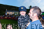 Michael John Moran enjoying the Dog at the Fair Field in Cahersiveen on Friday night with his Day Mike.