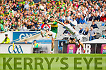 Bryan Sheehan, Kerry in action against Kevin Murnaghan, Kildare in the All Ireland Quarter Final at Croke Park on Sunday.