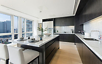 BNPS.co.uk (01202 558833)<br /> Pic:  Johns&Co/BNPS<br /> <br /> Fancy joining the Premier league of London property?<br /> <br /> A luxurious London apartment that has been home to a string of Premier League footballers has emerged for sale for close to £2m.<br /> <br /> The lavish home is on the 25th and 26th floors of the stylish Ontario Tower in Ballymore, close to Canary Wharf.<br /> <br /> It's prime location and stylish facilities have made it a favourite of West Ham United players with three internationals having lived there.