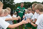 27-07-2017, Voetbalkamp, Norg, Jeugd, goalkeeper Kevin Begois  of FC Groningen,