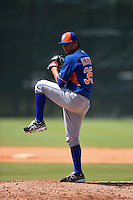 New York Mets pitcher Octavio Acosta (35) during a minor league spring training game against the Miami Marlins on March 30, 2015 at the Roger Dean Complex in Jupiter, Florida.  (Mike Janes/Four Seam Images)