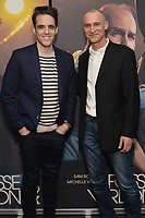 """NEW YORK - APRIL 7: Steven Levenson and Joe Fields attend the screening of FX's """"Fosse Verdon"""" presented by FX Networks, Fox 21 Television Studios, and FX Productions at the Museum of Modern Art on April 7, 2019 in New York City. (Photo by Anthony Behar/FX/PictureGroup)"""