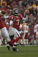 3 December 2006:  Falcons QB Michael Vick (7)..The Atlanta Falcons defeated the Washington Redskins 24-14 at FedEx Field in Landover, MD.
