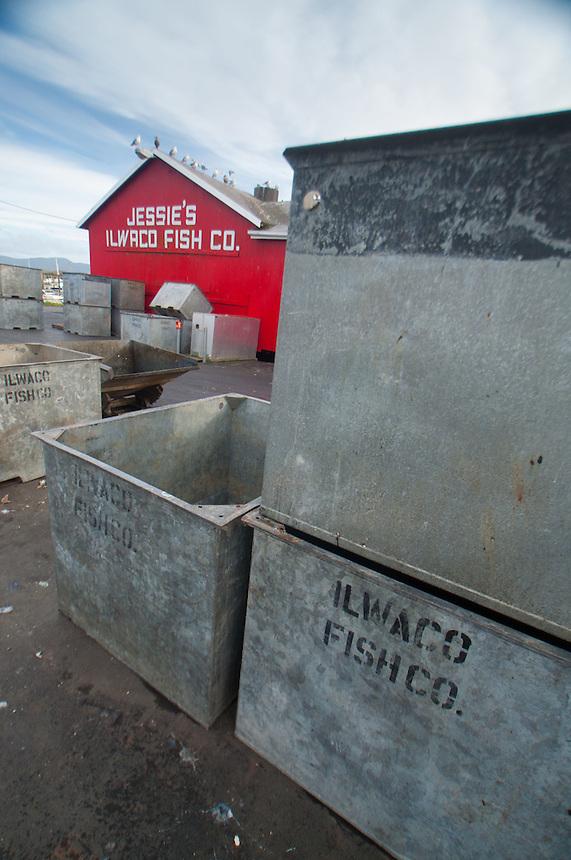 Jessie's Ilwaco Fish Co., Ilwaco, Washington, US