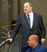 JUL 11 Harvey Weinstein seen leaving State Supreme Court