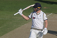 Gary Ballance of Yorkshire acknowledges the applause for his half century during Kent CCC vs Yorkshire CCC, Specsavers County Championship Division 1 Cricket at the St Lawrence Ground on 15th May 2019