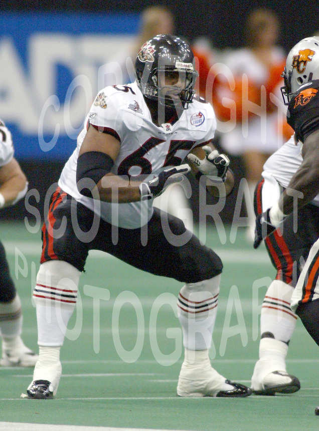 Ibraham Khan Ottawa Renegades 2004. Photo Scott Grant