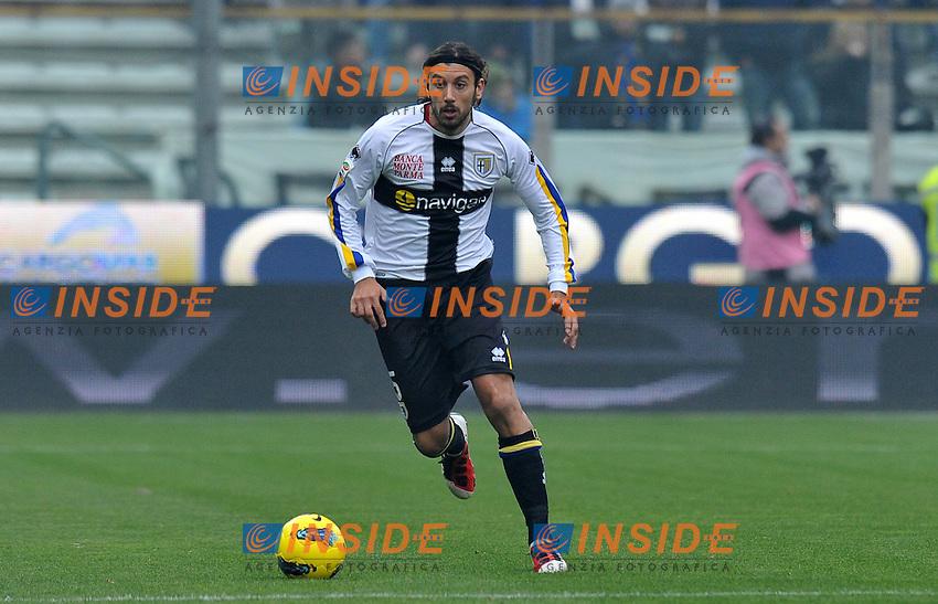 "Cristian ZACCARDO (Parma).Parma 20/11/2011 Stadio ""Ennio Tardini"".Serie A 2011/2012.Football Calcio Parma Vs Udinese.Foto Insidefoto Alessandro Sabattini."