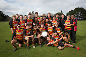 Rainbow's End 1st XV Premier Plate final rugby game between Pukekohe High School and Rosehill College, played at Pukekohe High School on Saturday August 13th, 2016. Pukekohe High School won the game 46 - 5.<br /> Photo by Richard Spranger