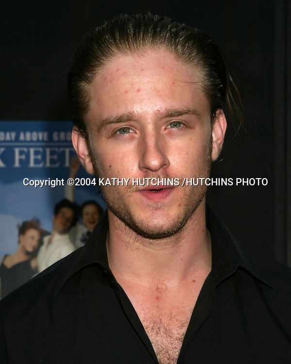 ©2004 KATHY HUTCHINS /HUTCHINS PHOTO.SIX FEET UNDER 2004 SEASON LAUNCH SCREENING.GRAUMAN'S CHINESE THEATER.HOLLYWOOD, CA.JUNE 2, 2004..BEN FOSTER