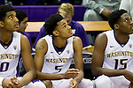 Marquese Chriss-Dejounte Murray-University of Washington freshmen guard Dejounte Murray and forward Marquese Chriss have decided to enter the NBA draft after their freshman year at the UW. (Photography by Scott Eklund/Red Box Pictures)