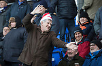 St Johnstone v Hearts&hellip;23.12.17&hellip;  McDiarmid Park&hellip;  SPFL<br />A saints fan get into the christmas spirit<br />Picture by Graeme Hart. <br />Copyright Perthshire Picture Agency<br />Tel: 01738 623350  Mobile: 07990 594431