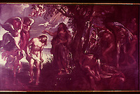 Peter Paul Rubens 1577-1640.  The Baptism of Christ.  Cinescopie.  Reference only