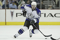 08 February 2006: Los Angeles Kings' Eric Belinger plays against the Columbus Blue Jackets at Nationwide Arena in Columbus, Ohio.<br />