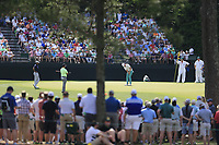 Haotong Li (CHN) during the 1st round at the The Masters , Augusta National, Augusta, Georgia, USA. 11/04/2019.<br /> Picture Fran Caffrey / Golffile.ie<br /> <br /> All photo usage must carry mandatory copyright credit (&copy; Golffile | Fran Caffrey)