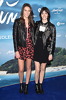 Charlotte Wiggins and Sam Rollinson<br /> at the Cirque du Soleil &quot;Amaluna&quot; 1st night, Royal Albert Hall, Knightsbridge, London.<br /> <br /> <br /> &copy;Ash Knotek  D3218  12/01/2017
