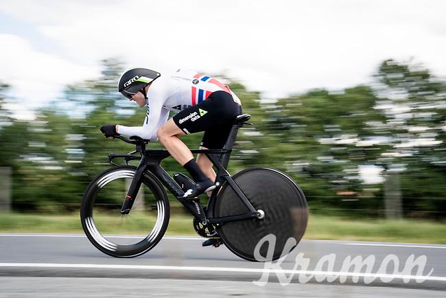 Edvald Boasson Hagen (NOR/Dimension Data)<br /> <br /> Stage 4 (ITT): Roanne to Roanne (26.1km)<br /> 71st Critérium du Dauphiné 2019 (2.UWT)<br /> <br /> ©kramon