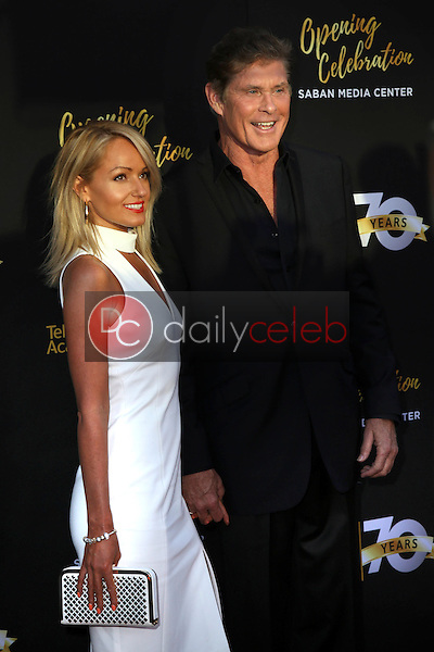 Hayley Roberts, David Hasselhoff<br />