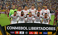 IBAGUE - COLOMBIA, 19-02-2020: Jugadores del Internacional posan para una foto previo al partido por la fase 3 ida de la Copa CONMEBOL Libertadores 2020 entre Deportes Tolima de Colombia y SC Internacional de Brasil jugado en el estadio Manuel Murillo Toro de la ciudad de Ibagué. / Players of Internacional pose to a photo prior match for the phase 3 first leg as part of Copa CONMEBOL Libertadores 2020 between Deportes Tolima of Colombia and SC Internacional of Brazil played at Manuel Murillo Toro stadium in Ibague. Photo: VizzorImage / Cristian Alvarez / Cont