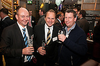 Gateley's Chris Radford and Mike Ward (centre) with Chris Stirland of FRP Advisory Ltd