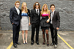 "WES WHITWORTH, MEREDITH BROWN, ZACK BENNETT, ADRIANA SAVALAS, ZACH CUMER. Cast and friends of the web series, ""Poor Paul,"" attend the 2nd Annual Streamy Awards at the Orpheum Theatre in Downtown Los Angeles.  Los Angeles, CA, USA. 4/11/2010.."