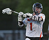 Scott Zeterberg #1 of Babylon gets ready to shoot on goal during the NYSPHSAA varsity boys lacrosse Class D state semifinals against Westlake at Adelphi University in Garden City, NY on Wednesday, June 7, 2017. Babylon fell to Westlake 11-10 in overtime.