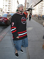 NEW YORK, NY - MAY 3: Kevin Smith spotted arriving at 'Good Day New York'  'in New York, New York on May 3 2018.  Photo Credit: Rainmaker Photo/MediaPunch