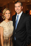 Honoree Courtney Fertitta and her husband Jason at the Houston Chronicle's Best Dressed announcement party at Neiman Marcus Tuesday Jan. 19,2010.(Dave Rossman/For the Chronicle)