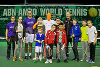 Rotterdam, The Netherlands, Februari 8, 2016,  ABNAMROWTT, Sports Plaza<br /> Photo: Tennisimages/Henk Koster
