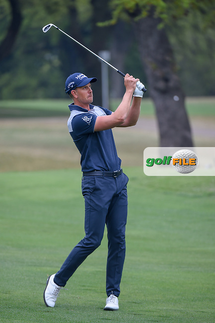 Henrik Stenson (SWE) watches his approach shot on 1 during day 3 of the WGC Dell Match Play, at the Austin Country Club, Austin, Texas, USA. 3/29/2019.<br /> Picture: Golffile | Ken Murray<br /> <br /> <br /> All photo usage must carry mandatory copyright credit (© Golffile | Ken Murray)